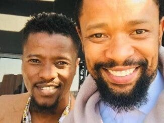 Isibaya's Qaphela and The Queen's Shaka Are 'Real' Life Brothers