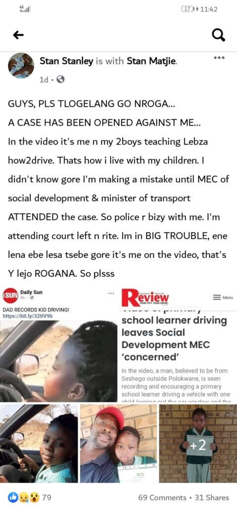 Viral Dad-Daughter Joyride Turns Nasty As Ledza's Father Is Set To Lose Kids