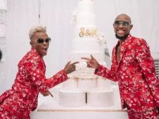 Somizi and Mohale Married In Community Of Property